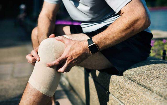 Knee pain massage