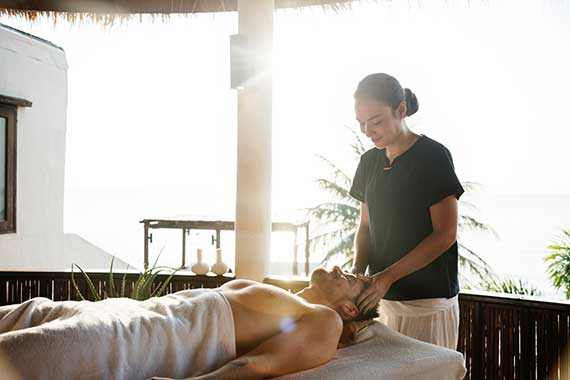 Full-Body Massage for stress